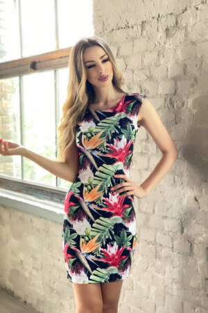 Elena ruha - dzsungel