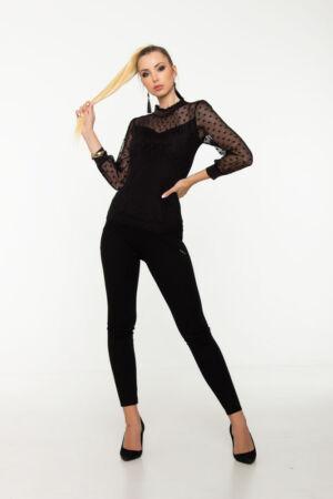 Lola póló - fekete
