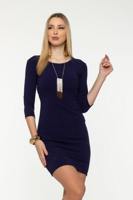 Miranda sokpántos ruha  - Csillámos kék