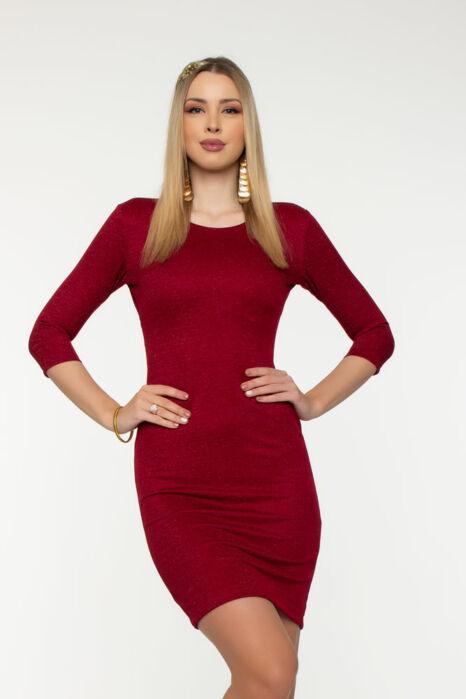 Miranda sokpántos ruha  - Csillámos meggy
