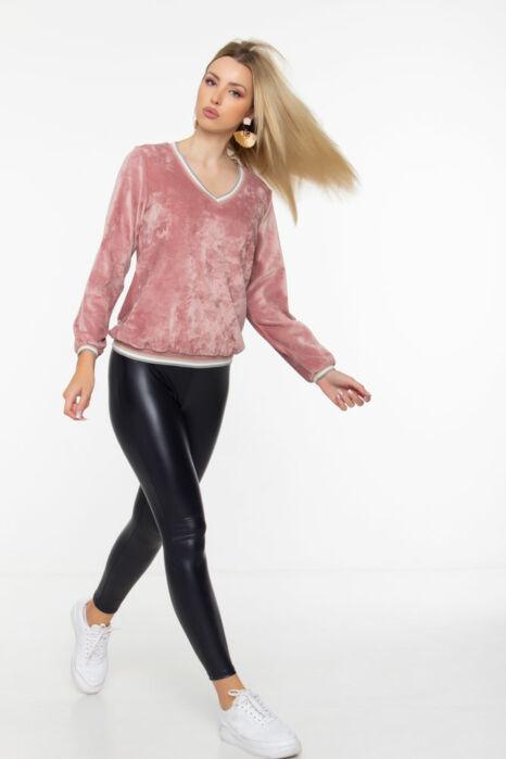 Evelin pulóver - Mályva