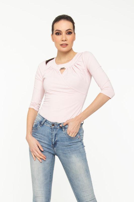 Zsófi póló - púder rózsaszín