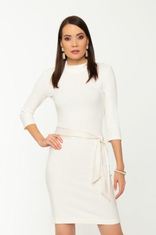 Monic garbós ruha - Fehér