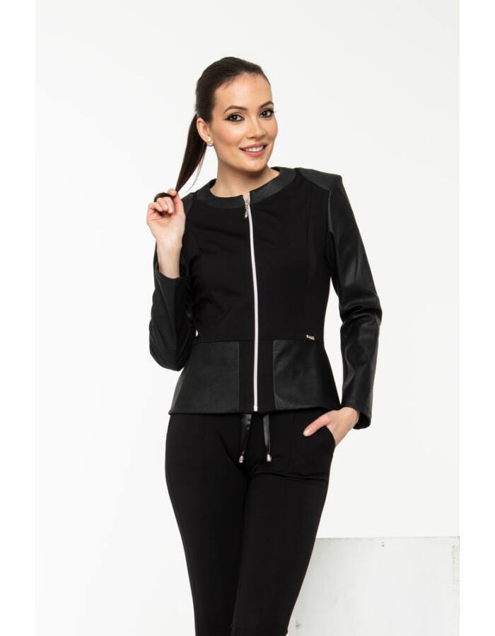 Jenny kabátka - fekete