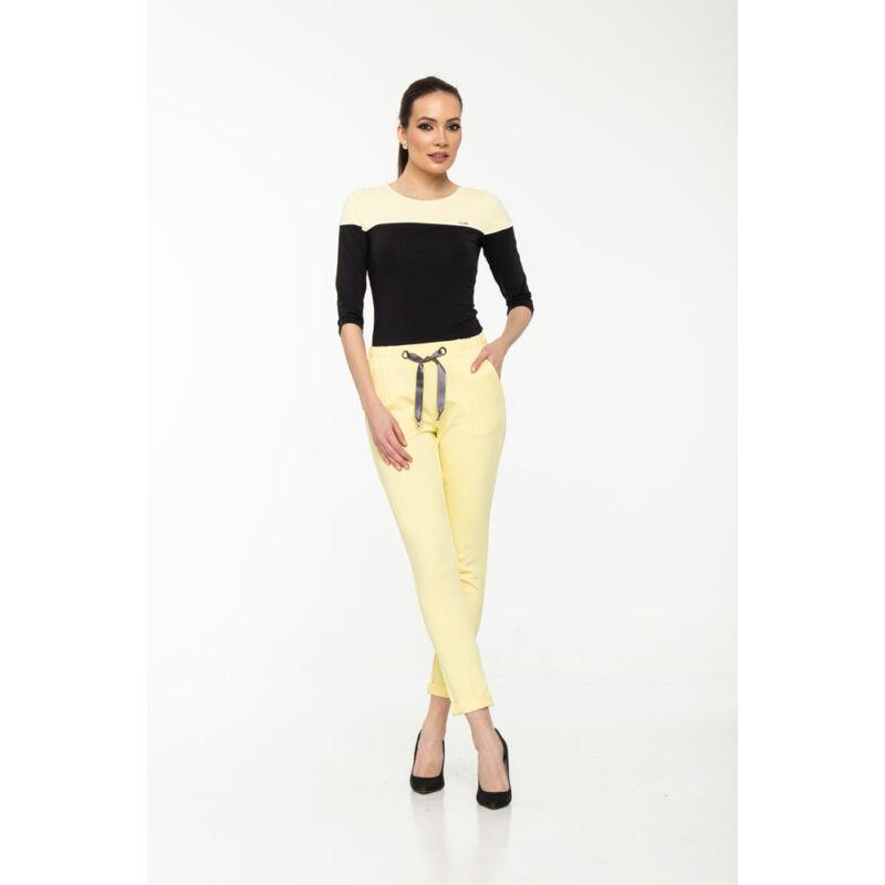 Linda nadrág - pasztell sárga