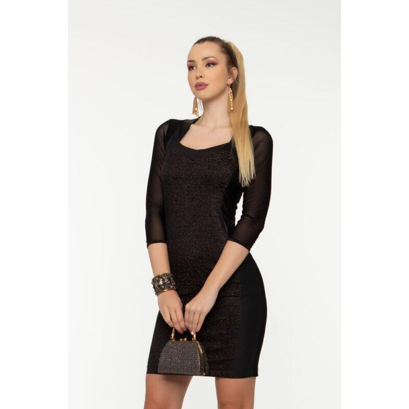 Gabi ruha - Fekete csillámos
