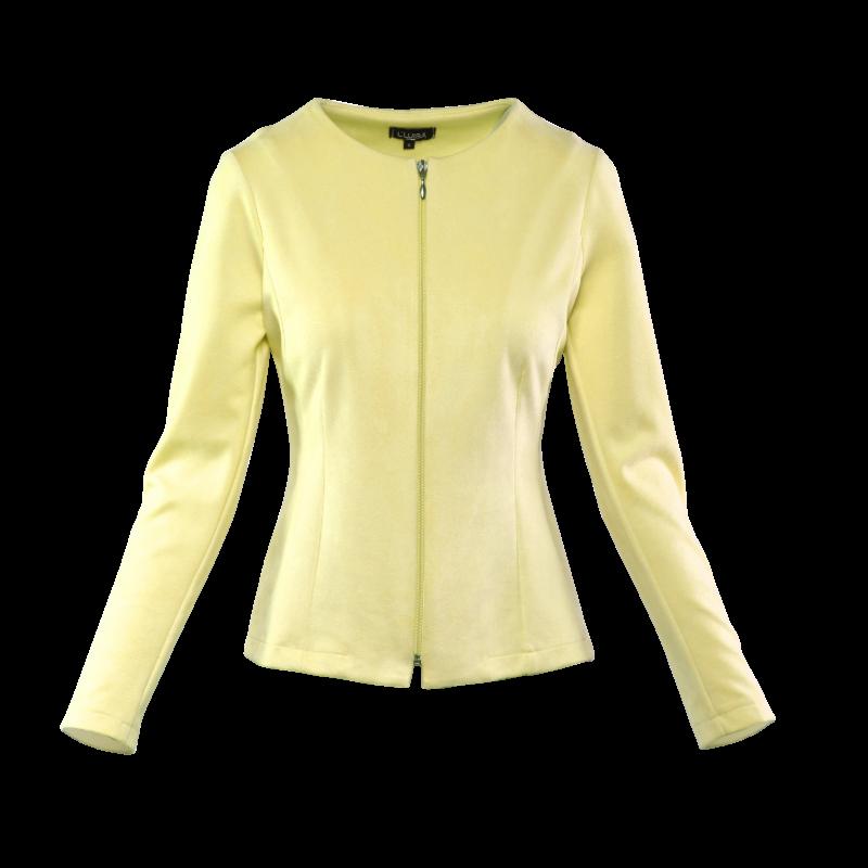 Rita kabátka - sárga