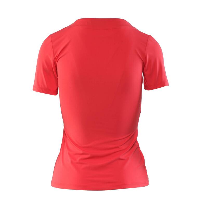 Cippes dekoltázsú póló - Piros