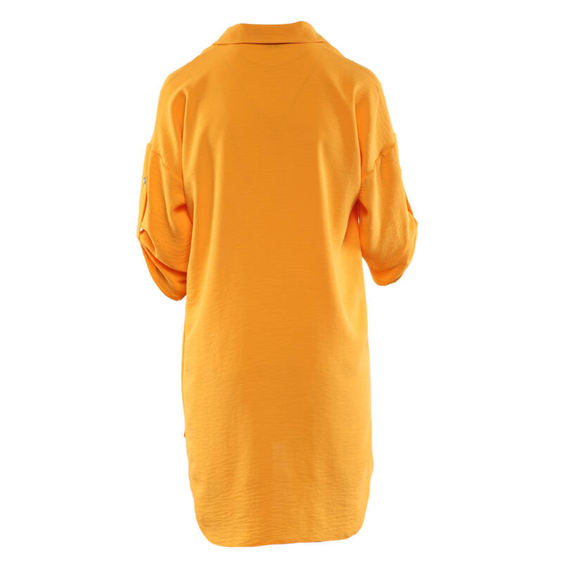 Lezser szabású női blúz - sárga